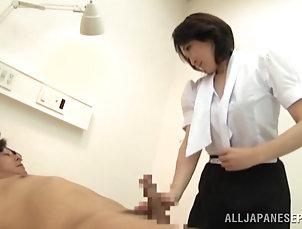 Asian,Japanese,Natural Tits,Couple,Hardcore,Cowgirl A slutty Japanese MILF strokes and...
