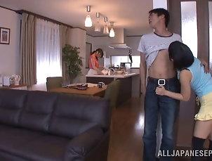 Couple,Hardcore,Reality,Asian,Japanese Horny couple enjoying a steamy fuck...