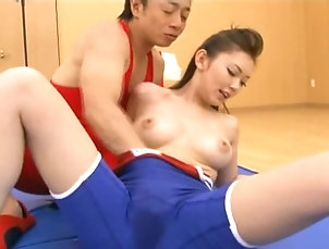 Hardcore,Compilations,Couple,Japanese,Natural Tits Hot honey enjoys sucking on his cock...