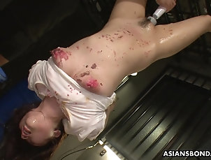 BDSM,Fetish,Torture,Asian Her slick and wet pussy getting toyed...