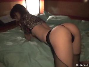 Solo Models,Japanese,Thong,Masturbation Izumi Koharu enjoys masturbating...