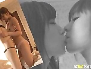 oral,blow-job,azhotporn,lesbians,kissing,toys-dildos,legs-ass,asakura,and,kawakami,Asian AzHotPorn.com - A Dream Double Yu...
