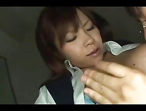 Big Tits;Asian,Asian,Big Tits Busty Office Lady Getting Her Tits...