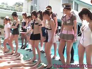 Asian;Teens;Japanese;Erito;HD Videos;Lucky Dude;Costume;Japanese Teens Costume japanese teens gangbanging...
