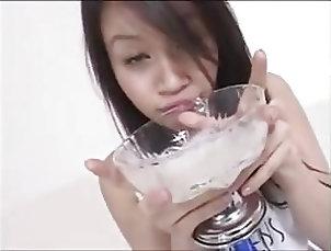 Asian;Cum Swallowing DRINKERS SEMEN Hinano Mizuki