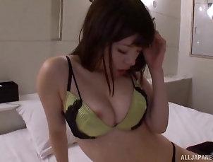 Couple,Japanese,Bra,Panties,Natural Tits Naughty Japanese girl wants his long...
