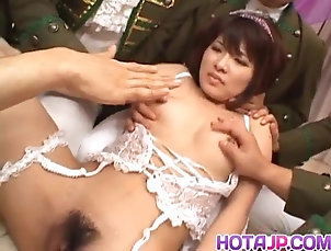 Asian;Cumshots;Group Sex;Hardcore;Japanese;All Japanese Pass;Screwed;Hot Mouth;In Mouth Kana Shimada has mouth and vagina...