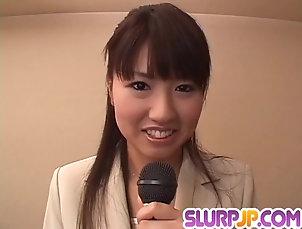 Asian;Blowjobs;Cumshots;Facials;Japanese;Choke Her;Ferame Misato Kuninaka gets tasty dick to...