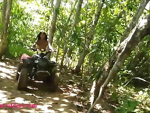 Asian;Deep Throats;Teens;Heather Deep;Huge Teen teen heather goes atving in paradise...