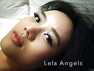 Asian;Brunette;Pornstar;POV;Lingerie;Chinese;HD Videos;Striptease;Girl Masturbating Asian adult model Estelle Lela Angels...