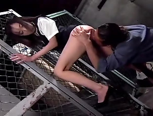 Asian,Couple,Hardcore,Japanese Asian office chick gets fucked deep...