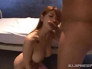 BDSM,Bondage,Torture Busty Japanese angel Yuuka Minase...