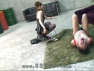 Femdom;Japanese;Slave;Whipping;Femdom Whip;Femdom Tied;Japanese Femdom;Whip;Mistress Land Japanese femdom tied slaves, hit with...