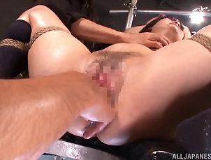 BDSM,Asian,Fetish,Bondage,Japanese Hardcore bondage sex with a slutty...