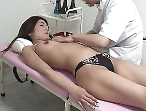 Asian,Japanese,Massage,Natural Tits,Panties Hairy Japanese Wife Gets Massaged and...