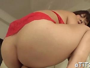 hardcore;asian;big-tits;blowjobs;japanese Mind-blowing asian titty fuck