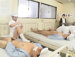 Asian,Hairy,Nurses Horny Asian Nurses Getting Fucked In...