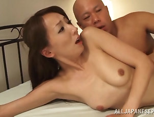 Small Tits,Asian,Japanese,Couple,Hardcore Wonderful Shiho Goes Hardcore With A...