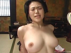 Threesome,Hardcore,MMF,Asian,Japanese Geisha goes the extra mile to satisfy...