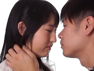 Couple,Japanese,Natural Tits Japanese woman is curious about a...