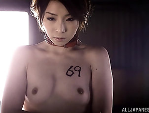 Hardcore,Gangbang,Asian,Japanese,MILF,Doggystyle,Blowjob,Face Fucking Tamaki Nakaoka gets her cunt pounded...