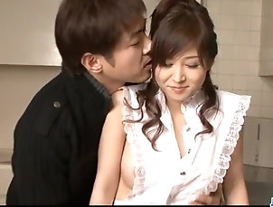 Japanese Moe Yoshikawa gets creamed after...