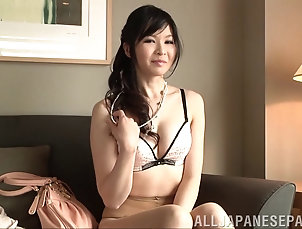 Couple,Hardcore,Asian,Japanese,Natural Tits,Long Hair Girl in a feminine dress and...