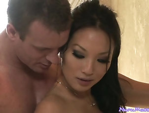 Asian,Brunettes,Natural Tits,Couple,Hardcore,Oiled,Reality,Massage,Nice Ass,Handjob Japanese Wet Sex Fantasy With a Busty...