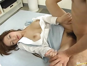 Asian,Blowjob,Hardcore,Office,Toys Busty Asian Secretary Caught...
