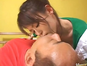 Asian,Babes,Clothed Sex,Couple,Handjob,Hardcore,Japanese Hot Japanese Massage Ends with a...
