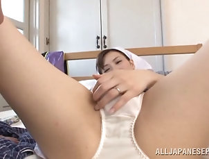 Couple,Hardcore,Asian,Japanese,Panties,Reality A cute Asian housemaid sheds her...