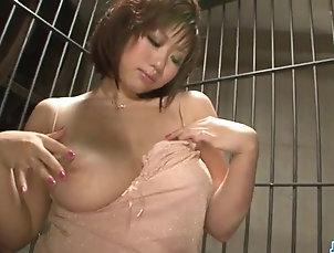 Japanese,Fetish Voluptuous, Neiro Suzuka, plays with...