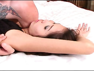 Pussy,Close Up,Shaved Pussy Sweet Asian chick makes a hard dick...