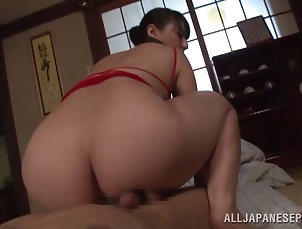 Hardcore,Couple,Asian,Japanese,Natural Tits Ryoko Murami performing a nuru...