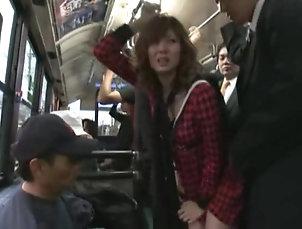 Compilations,Japanese,Bus Yuma Asami fucked hard by a horny...