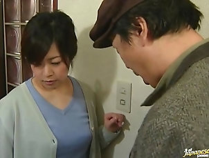 Hardcore,Hairy,Japanese,Babes,Natural Tits,Kitchen,Couple Chubby Japanese milf gets fucked by...
