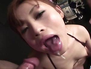 Asian,Japanese Miina Yoshihara gets ravished in...