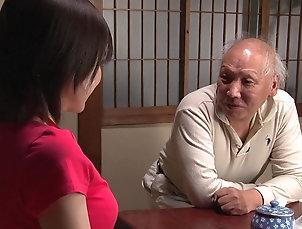 Couple,Japanese,Old vs Young Aimi Yoshikawa cannot resist an...