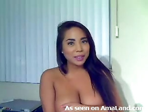 Amateur,Homemade,Brunettes,Solo Models,Big Tits,Natural Tits Gorgeous Asian Teen Shows Her Big...
