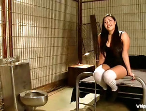 BDSM,Slave,Femdom,Spanking,Prison Steaming hot Asian is standing any...