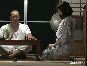 Couple,Hardcore,Asian,Japanese,Reality Busty mom Honami Uehara gets banged...