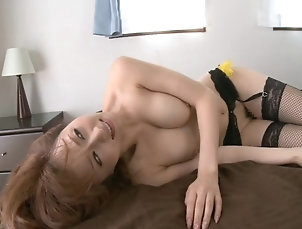 Hardcore,Asian,Japanese,Bra Foot fetish housewife delights a one...