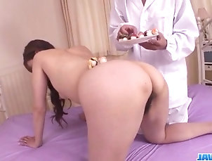 Japanese Japanese porn show along superb...