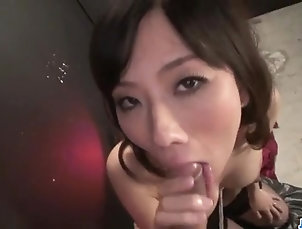 Japanese Sexy trio experience with lovely...