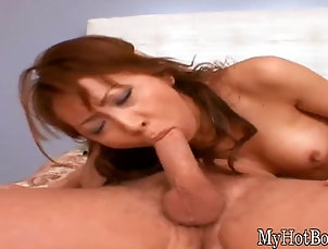 Japanese Hottest chick rubbing a vibrator over...