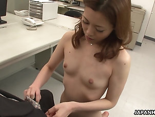 Reality,Office,Asian,Japanese Office worker getting cunt fucked on...