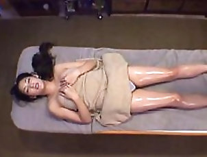 Massage Sexy Japanese MILF With a Hairy Pussy...