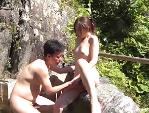 Couple,Japanese,Outdoor,Natural Tits,Pool Naked Japanese chick wants to be...