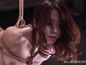 BDSM,Bondage,Spanking Amazing rear banging BDSM scene with...