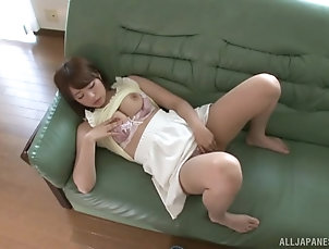 Solo Models,Japanese,Masturbation,Bra While his friend Hatsumi Saki...